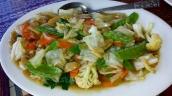 Gedünstetes Gemüse mit schön viel Knoblauch