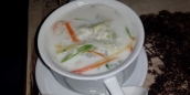 Kokosnuss Suppe