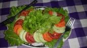 Bunter Salatteller