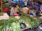 Gemüse und Salate gibt es im Überfluss.