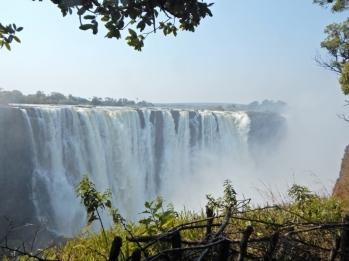 Schon imposant. Der Tagesausflug nach Zimbawe hat sich auf jeden Fall gelohnt.