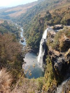 Schöne Wasserfälle.