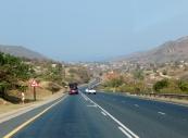 Wir fahren einmal quer durch Swaziland. Unser Ziel ist die Ostküste von Südafrika.