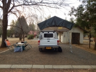 Hier hatte jeder Campingplatz sein eigenes Waschhäuschen.