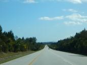 Der Weg führt immer weiter Richtung Westen.
