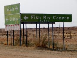 Ein weiteres Highlight auf unsere Reise. Der Fish River Canyon naht.