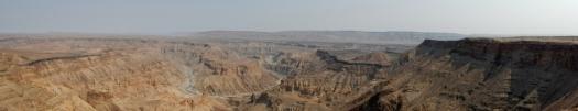 Nicht ganz so groß wie der Grand Canyon in USA, aber genauso beeindruckend.