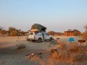 Zurück in Namibia nahe am Köcherbaumwald.