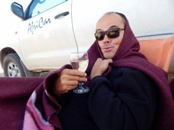 In Lüderitz war es unbeschreiblich windig. Monty Python lässt grüßen.