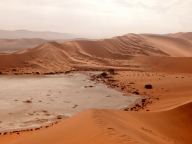 Die Dünen sind vor mehr als 5 Millionen Jahren entstanden.