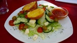 Salat war auch eher eine Seltenheit.