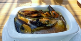 Muscheln. Frisch und gut am Meer genossen.